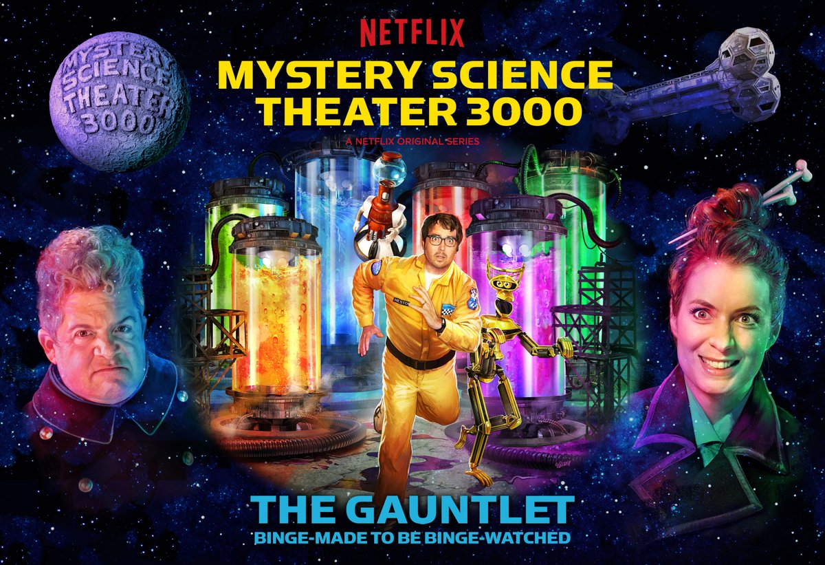 Mystery Science Theater 3000 The Gauntlet The Day Time Ended